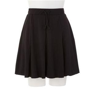 骨盤サポートスカート ブラック  M-L - 拡大画像