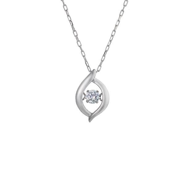 ダイヤモンド・プラチナ900・ダンシングストーンネックレス