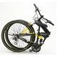 WACHSEN(ヴァクセン) 折り畳み自転車 BM200-BYL 26インチ 18段変速 ブラック/イエロー (マウンテンバイク) - 縮小画像2