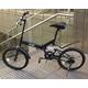 20インチ折畳自転車 ツヤ消しカラー グローイングフラット リミテッド - 縮小画像5