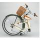 WACHSEN(ヴァクセン) 折りたたみ自転車 BC626-WB 26インチ シマノ6段変速付 アイボリー/モスグリーン (シティサイクル) - 縮小画像2