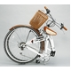 WACHSEN(ヴァクセン) 折りたたみ自転車 BC626-WB 26インチ シマノ6段変速付 ホワイト/ブラウン (シティサイクル) - 縮小画像2