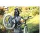 WACHSEN(ヴァクセン) 自転車 Lang(ラング) 20インチ サス付きアルミミベロ 6段変速 ブルーグレー+ダイナモライト+ワイヤーロック - 縮小画像5