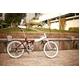 HEAVEN's(ヘブンズ) 20インチ カラフル折り畳み自転車 BGC-106-BR 6段変速 チョコブラウン - 縮小画像5