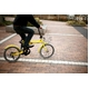 HEAVEN's(ヘブンズ) 20インチ カラフル折り畳み自転車 BGC-K206-YL カギ/カゴ/ライト付 6段変速 イエロー - 縮小画像5