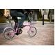 HEAVEN's(ヘブンズ) 20インチ カラフル折り畳み自転車 BGC-K206-PK カギ/カゴ/ライト付 6段変速 ピンク - 縮小画像5