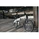 WACHSEN(ヴァクセン) 20インチアルミ 折り畳み自転車 Weiβ(ヴァイス) 6段変速付 BA-101 - 縮小画像5