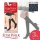 スリムウォーク スレンダーショート ショートストッキング 【3足セット】 ブラック ダイヤ柄M-L - 縮小画像1