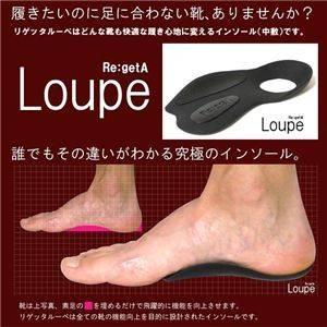 インソール Re:getA Loupe(リゲッタルーペ) メンズ (靴の中敷き)