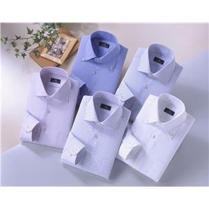 センツァクラバッタシャツ5枚組 3L 50178-3L - 拡大画像