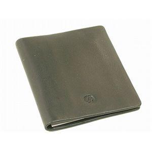 GIORGIO ARMANI(ジョルジオ アルマーニ) カードケース YA026-80001 ブラック カーフ - 拡大画像