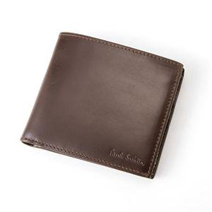 Paul Smith(ポールスミス) 二つ折財布 1033/W145 ブラウン - 拡大画像