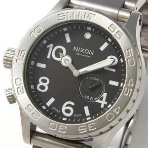 NIXON(ニクソン) ビッグフェイスウォッチ A035000/ブラック - 拡大画像