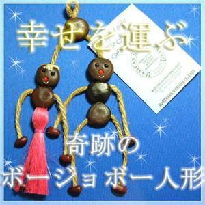 幸せを運ぶ ボージョボー人形 - 拡大画像