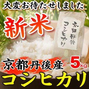 平成23年産・新米 京都丹後産コシヒカリ 5kg - 拡大画像