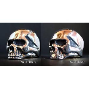 【スカルKR Small Type 】 Keith Skull Ring キーススカルリング/Dice スカルKR88 12号 - 拡大画像