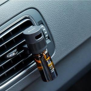 アットアロマ 車用ディフューザー ドライブタイムクリップ オイルセット(B02 フラワーオレンジ) - 拡大画像