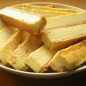 【訳あり】チーズケーキバー 1kg(18本〜26本) - 拡大画像
