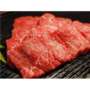松阪牛モモ肉網焼き 800g - 拡大画像
