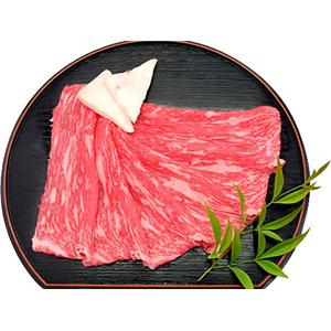 松阪牛もも(赤身)すき焼き 700g - 拡大画像