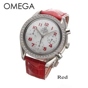 OMEGA(オメガ) 腕時計 スピードマスター レディース オートマ ダイヤモンド 3815.79.40 - 拡大画像