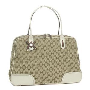 Gucci(グッチ) 162881 FCERG 8420 ボストン BE/WT - 拡大画像
