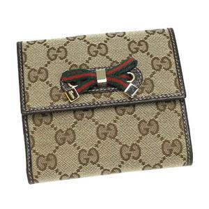 Gucci(グッチ) 167465 FCEZG 9791 Wホック BE/DB - 拡大画像