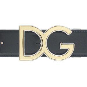 Dolce&Gabbana (ドルチェ&ガッバーナ) ベルト BC2357 35/90c BK - 拡大画像