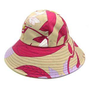 EMILIO PUCCI(エミリオプッチ) 帽子 91GF01 91311 HAT II PK 011 ピンク - 拡大画像