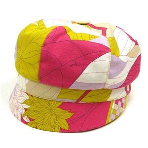 EMILIO PUCCI(エミリオプッチ) 帽子 91GF26 91311 CAP II PK 011 ピンク - 拡大画像