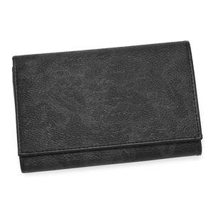 PRIMACLASSE(プリマクラッセ)二つ折り財布(小銭入れ付) BP251 ブラック - 拡大画像