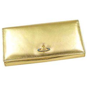 Vivienne Westwood(ヴィヴィアンウエストウッド)長札財布1032ゴールド - 拡大画像