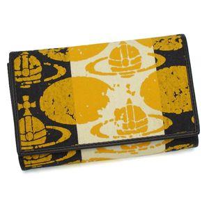 Vivienne Westwood(ヴィヴィアンウエストウッド)二つ折り財布(L字ファスナー)2232イエロー - 拡大画像