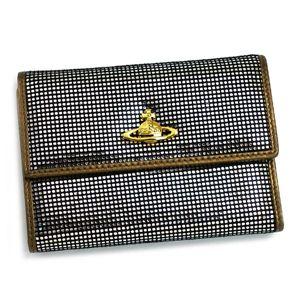 Vivienne Westwood(ヴィヴィアン ウエストウッド) 二つ折り財布(小銭入れ付) NEW SLOANE 738 シルバー  - 拡大画像