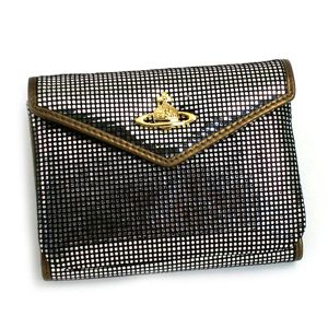 Vivienne Westwood(ヴィヴィアン ウエストウッド) 三つ折り財布(小銭入れ付) NEW SLOANE 4526 シルバー - 拡大画像