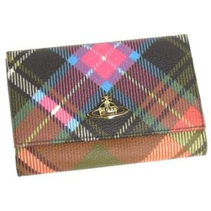 Vivienne Westwood(ヴィヴィアン ウエストウッド) 二つ折り財布(小銭入れ付) DERBY 746 - 拡大画像