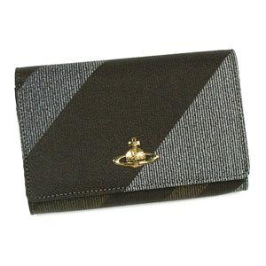 Vivienne Westwood(ヴィヴィアン ウエストウッド) 二つ折り財布(小銭入れ付) DERBY 2232 ブラウン  - 拡大画像