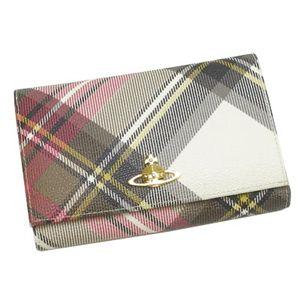 Vivienne Westwood(ヴィヴィアン ウエストウッド) 二つ折り財布(小銭入れ付) DERBY 2232 エキシビジョン - 拡大画像