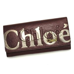 CHLOE(クロエ) 長財布 ECLIPSE 3PO303 LONG WALLET WITH FLAP RUBY - 拡大画像