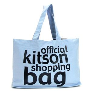 kitson(キットソン) トートバッグ KHB0141 ライトブルー - 拡大画像