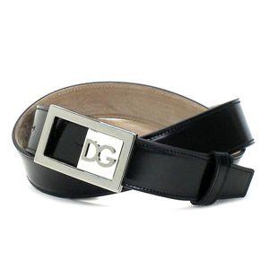 Dolce&Gabbana(ドルチェ&ガッバーナ) ベルト BC2499 BELT ブラック 95 - 拡大画像