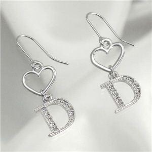 CHRISTIAN DIOR(クリスチャン ディオール) イヤリング D60189 Pierced Earrings シルバー - 拡大画像