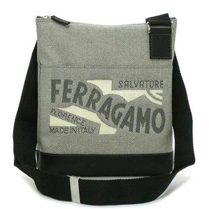 Ferragamo(フェラガモ) ナナメガケバッグ 247243 RUSH ブラック - 拡大画像