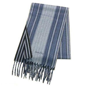 Ferragamo(フェラガモ) スカーフ 528527 ライトブルー - 拡大画像