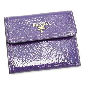 PRADA(プラダ) 三つ折り財布(小銭入れ付) VERNICE 1M0170 ライトパープル - 拡大画像