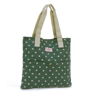 CATH KIDSTON(キャスキッドソン) トートバッグ FASHION 255110 WASHED COTTON TOTE W/POCKET - 拡大画像