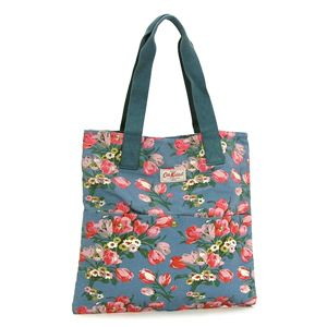 CATH KIDSTON(キャスキッドソン) トートバッグ FASHION 255318 WASHED COTTON TOTE W/POCKET - 拡大画像