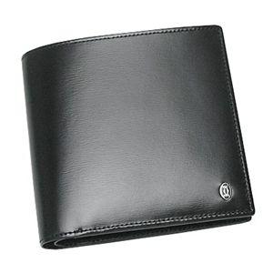 Cartier(カルティエ) 二つ折り財布(小銭入れ付) PASHA DE CATIER L3000137 BANKNOTE/COINS/CC ブラック - 拡大画像