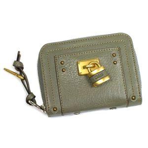 Chloe(クロエ) 二つ折り財布(小銭入れ付) PADDINGTON 7EPM09 647 グリーン - 拡大画像