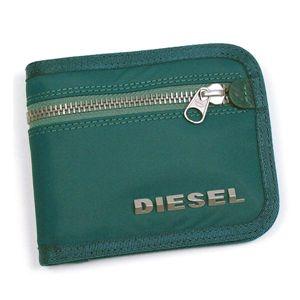 DIESEL(ディーゼル) 二つ折り財布(小銭入れ付) NEW GENERATION 00XG78 New Jiny H2356 ブルー - 拡大画像